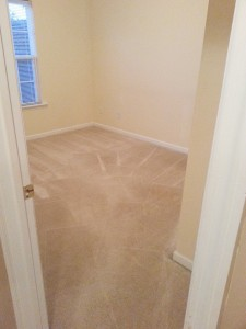 After shot of carpet cleaned in augusta ga